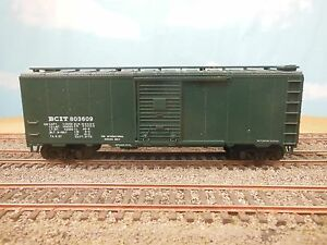 HO-SCALE-ATHEARN-BCIT-40-039-BOX-CAR