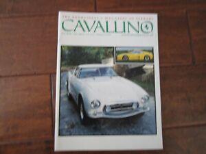 VINTAGE-CAVALLINO-FERRARI-MAGAZINE-NUMBER-64-August-1991