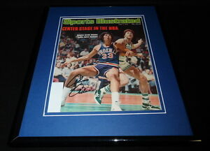 Alvan Adams Signed Framed 1976 Sports Illustrated Magazine Cover Suns