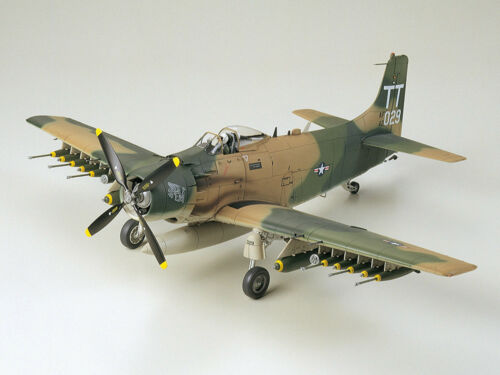 Skyraider s de 48 A 61073 1j U Armée l'Air Douglas 1 Tamiya 1wIFYA