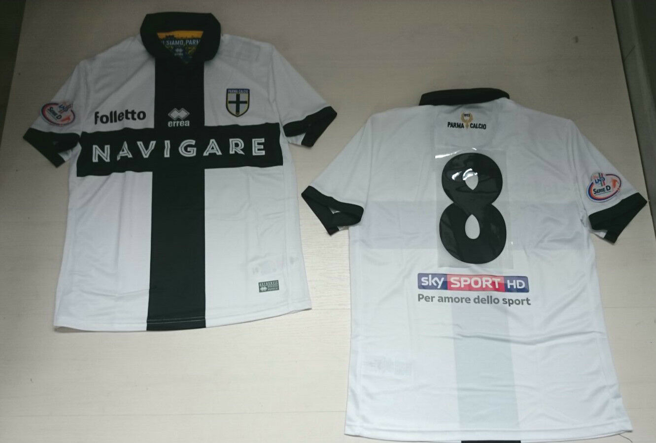 2016 Errea Parme 8 Giorgino T-Shirt Lnd Maillot D Série Match Haut Jersey