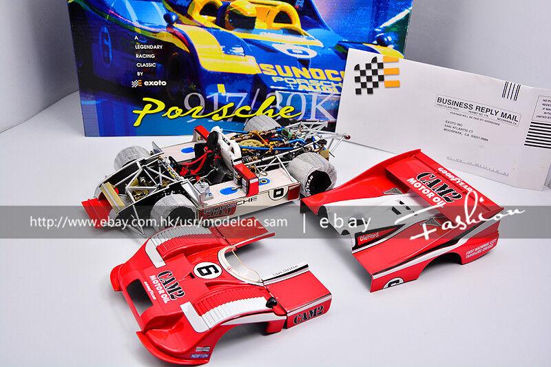Exoto 1 18 1975 Porsche 917 917 30 CAM2