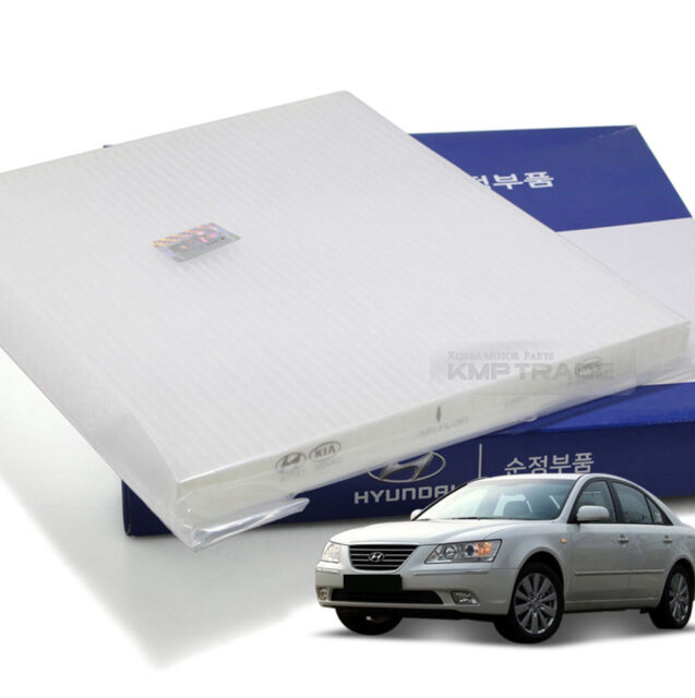 Charcoal Activated Carbon Cabin Air Filter For Hyundai Nf Sonata Transform 07 09