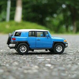 Toyota-FJ-Cruiser-Model-Car-5-034-Toys-1-36-Open-two-doors-Collection-Alloy-Diecast