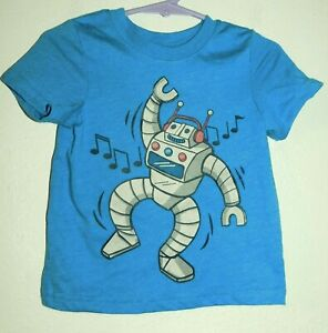 Cat & Jack Infant 12 months ROBOT Shirt
