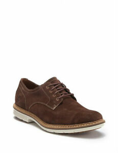 Timberland-NAPLES-TRAIL-Brown-Mens-Size-9M-Oxfords-PLAIN-TOE-DERBY-Shoes