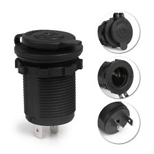 DC 12V Car Boat Motorcycle Cigarette Lighter Socket Power Plug Outlet Waterproof