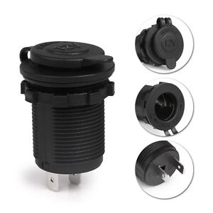 12V-Waterproof-Car-Auto-Motorcycle-Cigarette-Lighter-Sockets-Power-Plug-Outlet