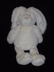 "Jellycat Plush Piper Bunny Off White Cream Stuffed Animal 15"""