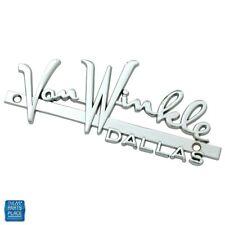 Van Winkle Pontiac Dallas High Performance Dealership Emblem Fits 1955 Pontiac