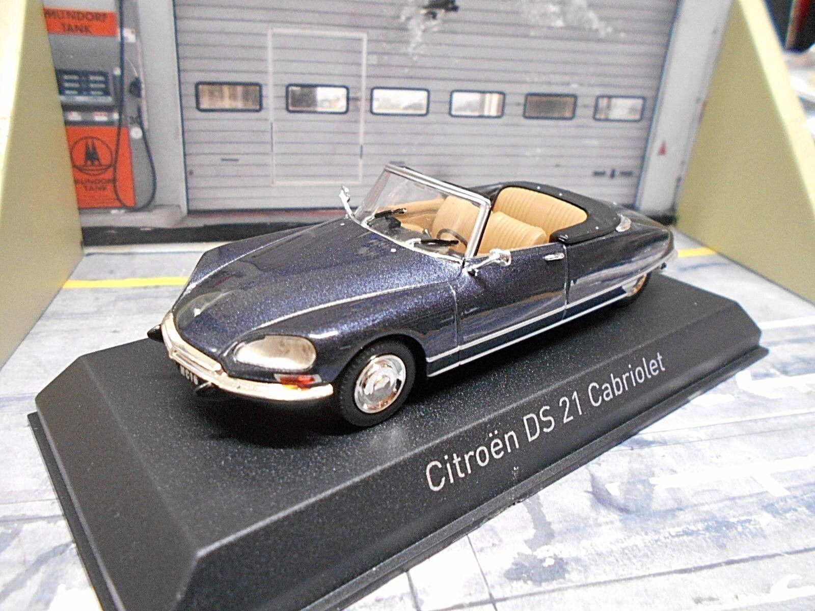 CITROEN ds21 DS 21 CABRIOLET cabriolet 1971 Bleu bleu Met 157054 NOREV 1 43