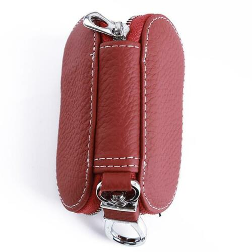 Details about  /Unisex Car Key Case Keychain Covers Men And Women Purse Small Car Key Wallets BL