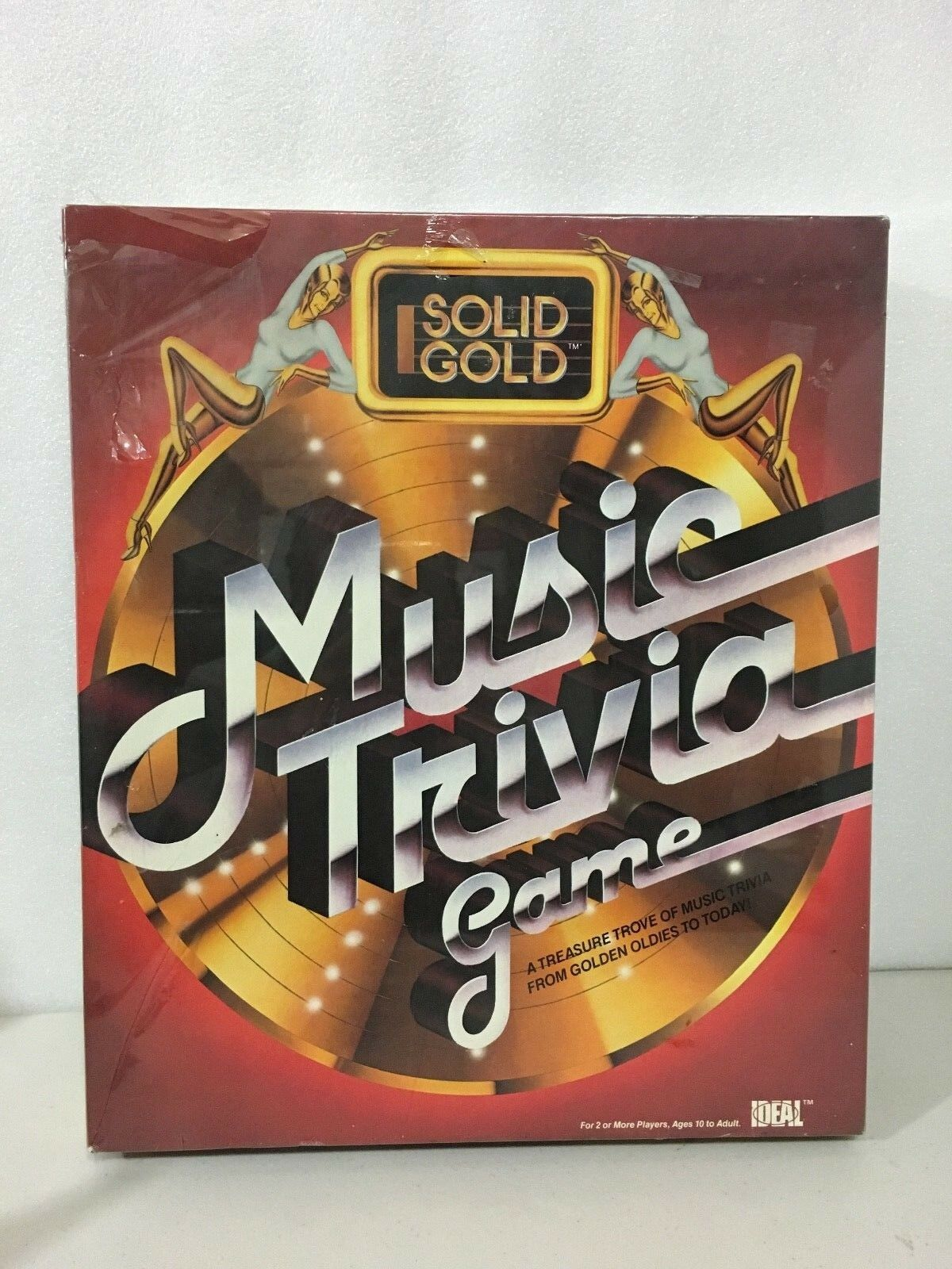Brand New Vintage Solid gold Music Trivia Game - 1984