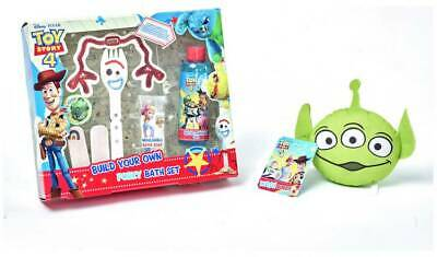 Toy Story 4 Build Your Own Forky Bath Set With Alien Wash Buddy NEW