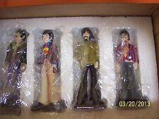 Gartlan NIB The Beatles Yellow Submarine Matched Set 4 figurines COA John Paul +