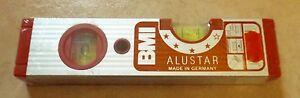 BMI-Wasserwaage-20-cm-200-mm-ALUSTAR-NEU-3-Bleistifte-SOLA