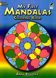 Details about My First Mandalas Coloring Book (Dover Coloring Books) by  Anna Pomaska