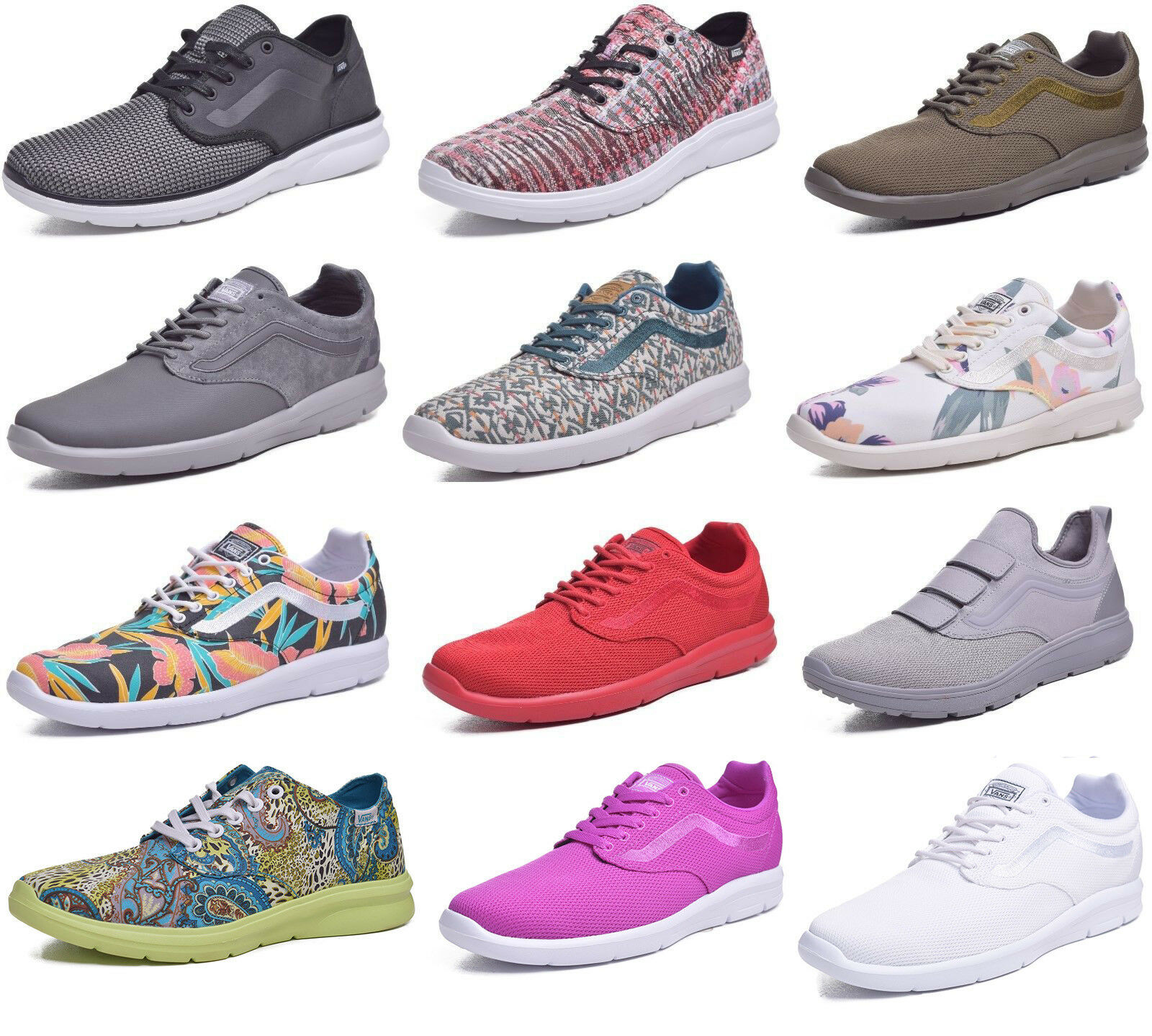 Vans Iso Ultracush Lightweight hommes /femmes Running Sk8 Chaussures Choose Color & Size
