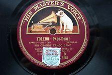 RIO GRANDE TANGO BAND 78 RPM TOLEDO / LET'S GO TO JERICHO HMV B5181