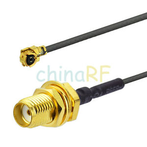 SMA-Female-jack-U-fl-IPX-Pigtail-Antenna-Cable-Adapter