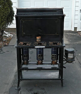 vintage 2 burner gas cook stove