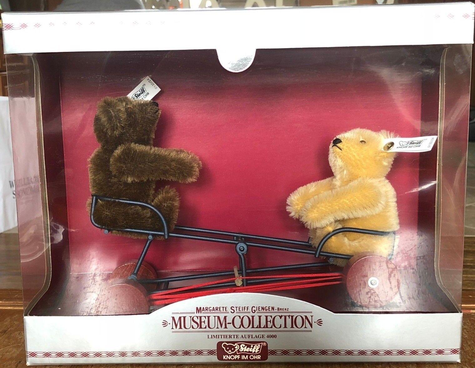 Colección del Museo del oso de peluche peluche peluche steiff Bears 400858 WIWAG M. 3eb