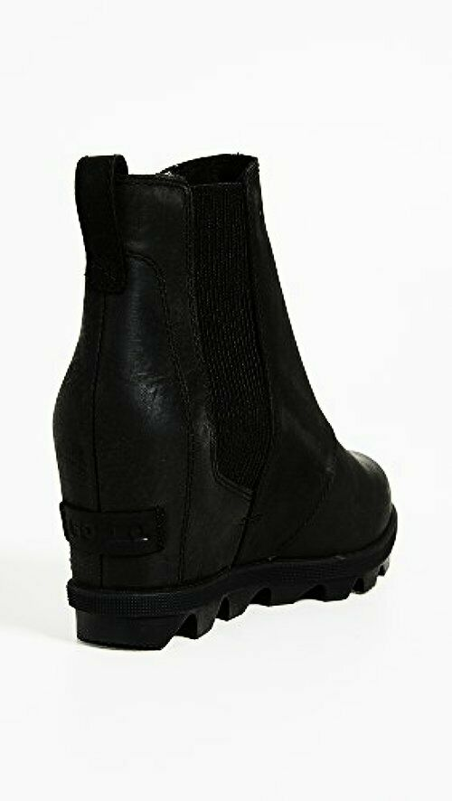 7d4f494c31cc Sorel Women s Joan of Arctic Wedge II Chelsea Boot 1808551 Black Size 6.5  for sale online