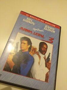 Dvd-Arma-letal-3-con-mel-gibson-y-danny-Glover-montaje-del-director