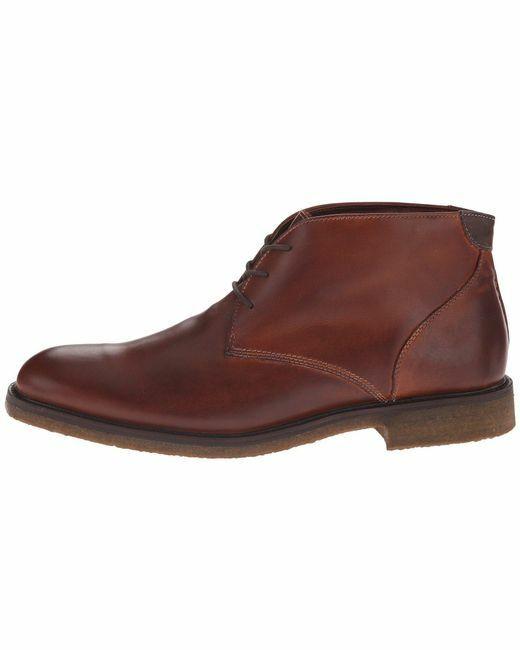 Johnston & Murphy Men's Copeland Chukka Boot in Red Brown color NIB US 9 M