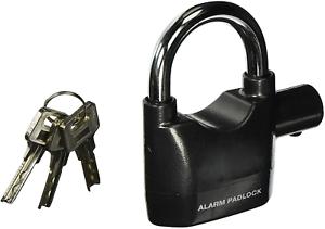 Anaconda Siren Alarm Lock Anti-Theft Security System Door Motor Bike Bicycle Pad