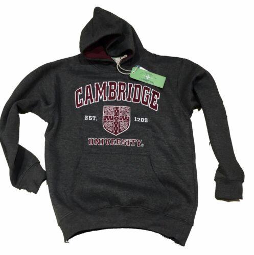 UFFICIALE Cambridge University Felpa con Cappuccio-Bambini-Carbone
