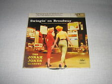 THE JONAH JONES QUARTET EP USA SWINGIN ON BROADWAY