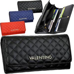 valentino femmes porte monnaie quilt portemonnaie portefeuille neuf ebay. Black Bedroom Furniture Sets. Home Design Ideas