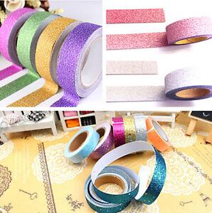 Showy-Craft-Washi-Tape-Book-Decor-5M-Scrapbooking-Adhesive-Paper-Sticker-TR66