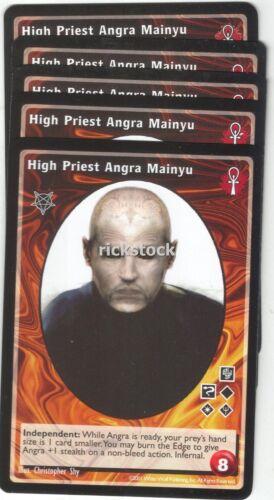 High Priest Angra Mainyu x5 Baali BL VTES Jyhad