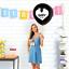 Baby-Shower-Gender-Reveal-Confettis-Ballon-Kit-Fille-ou-Garcon-Fete-Decoration miniature 5