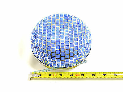 "BLUE 2006 UNIVERSAL 76mm 3/"" INCHES MUSHROOM SHAPE AIR INTAKE FILTER"
