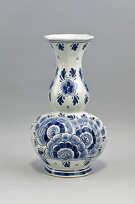 Art Pottery Pottery & Glass 99845094 Ceramics Vase Dutch Decor Blue Decoration With A Long Standing Reputation