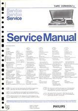 Philips Original Service Manual für TAPC 22 RH 935