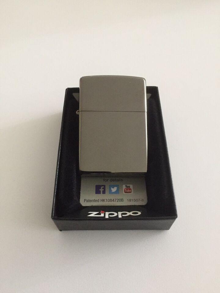 Lighter, Zippo - Black Ice Lighter
