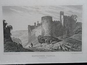 Original Antiquarian Welsh Engraving of Manerbeer Castle  c1830  WalesCymru - <span itemprop=availableAtOrFrom>Norwich, United Kingdom</span> - Returns not accepted unless misdescribed or otherwise agreed. Postage to be met by sender. Most purchases from business sellers are protected by the Consumer Contract Regulations 2013 whi - Norwich, United Kingdom