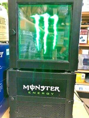 Welp Monster Energy Drink Mini Electric Dorm Fridge Cooler Crystal JJ-32