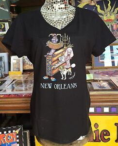 100/% COTTON CANVAS TOTE BAG Jamie Hayes New Orleans Birthplace of Jazz