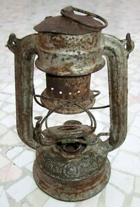 """ANTIQUE MADE IN GERMANY FEUERHAND """"SUPERBABY"""" RAIL ROAD LANTERN, EXCELLENT"""