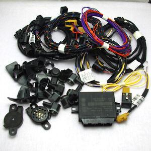 OPS-Set-8-Sensors-Front-Back-Parking-System-for-VW-Golf-MK6-RCD510-310-RNS510