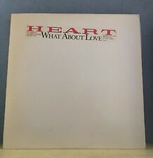 """HEART What About Love (Extended Version) 1985 USA advance promotional vinyl 12"""""""