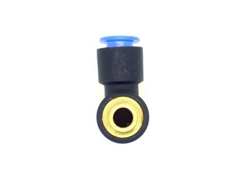 "manguera 10mm 1x T-trozo unión roscada 1//4/"" los conectores o enchufes pn5 Pneumatik, 1//2/"""