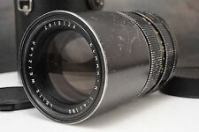 :Leica Leitz Elmar-R 180mm F4 E55 Manual Focus Telephoto R Mount Lens