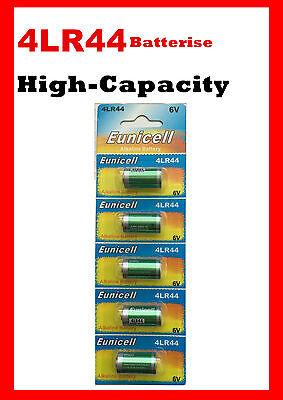 5 piece 4LR44 4A76 4G13 SR1154 4SR44 6V Card Power Alkaline battery 2yrs