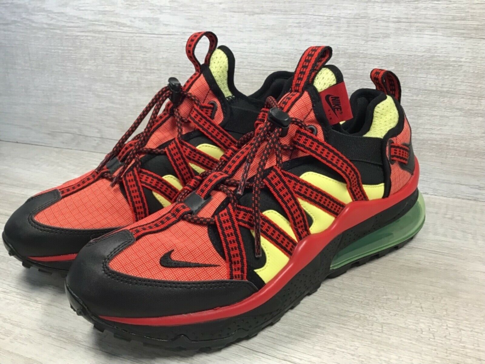 Men's Nike Air Max 270 Bowfin Shoes University Red Light